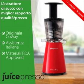 Estrattore di Succo Juicepresso Rosso | Consegna febbraio 2017